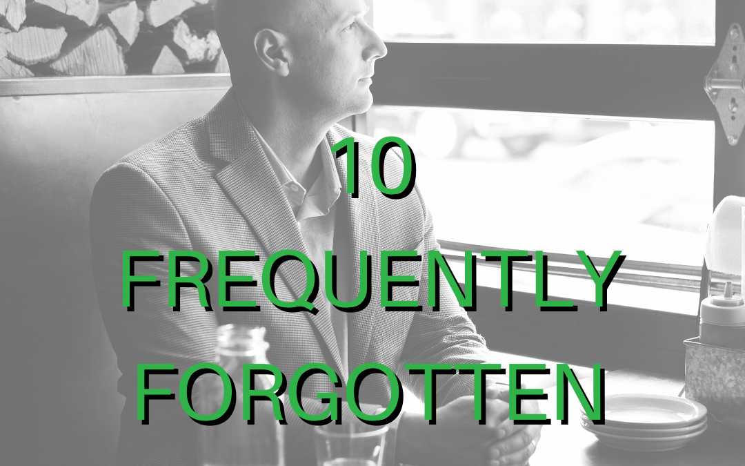 10 Items You Frequently Forget to Be Thankful For