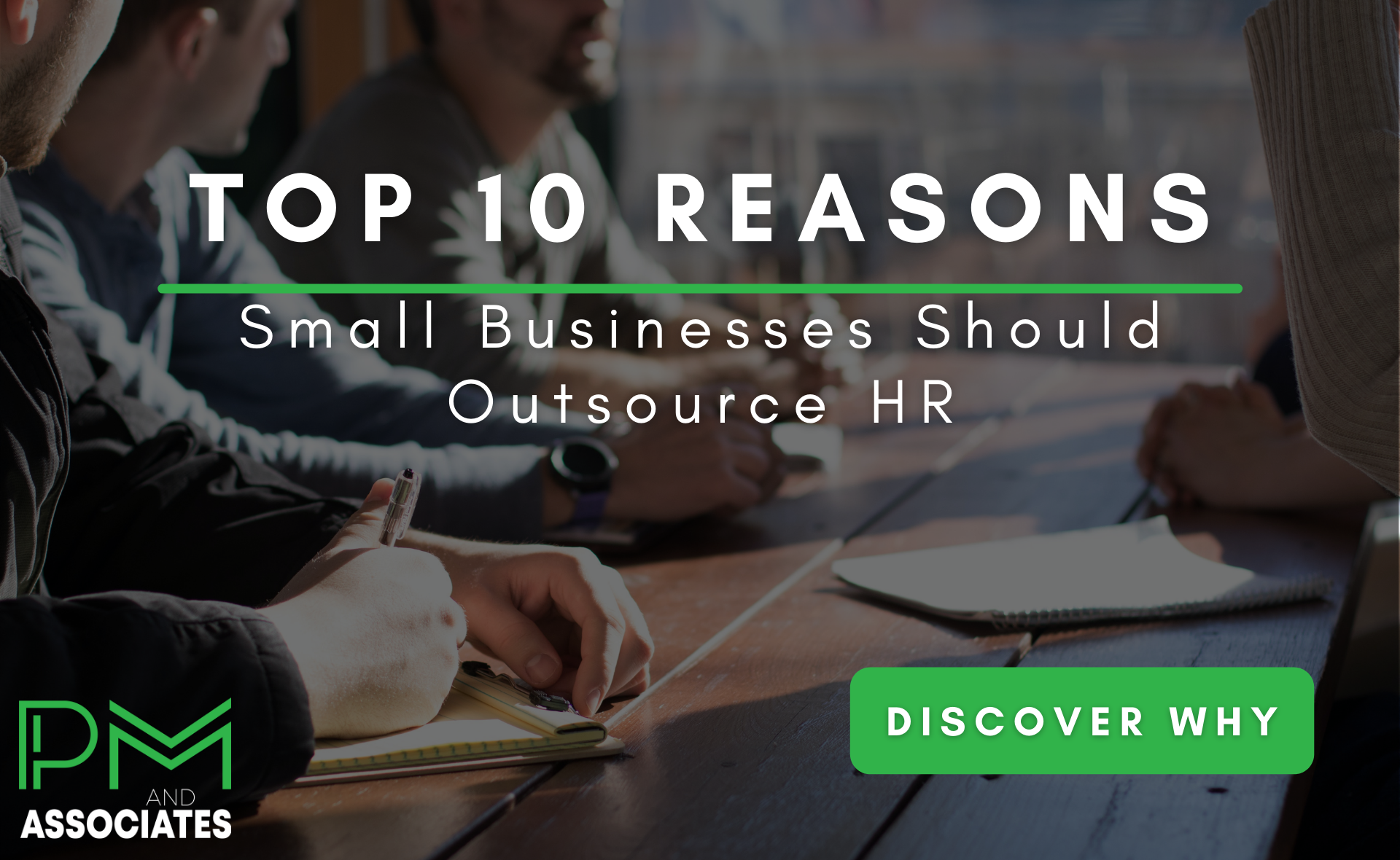 Top 10 Reasons Small Businesses Should Outsource HR